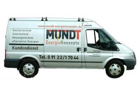 kundendienstfahrzeug mundt energiekonzepte