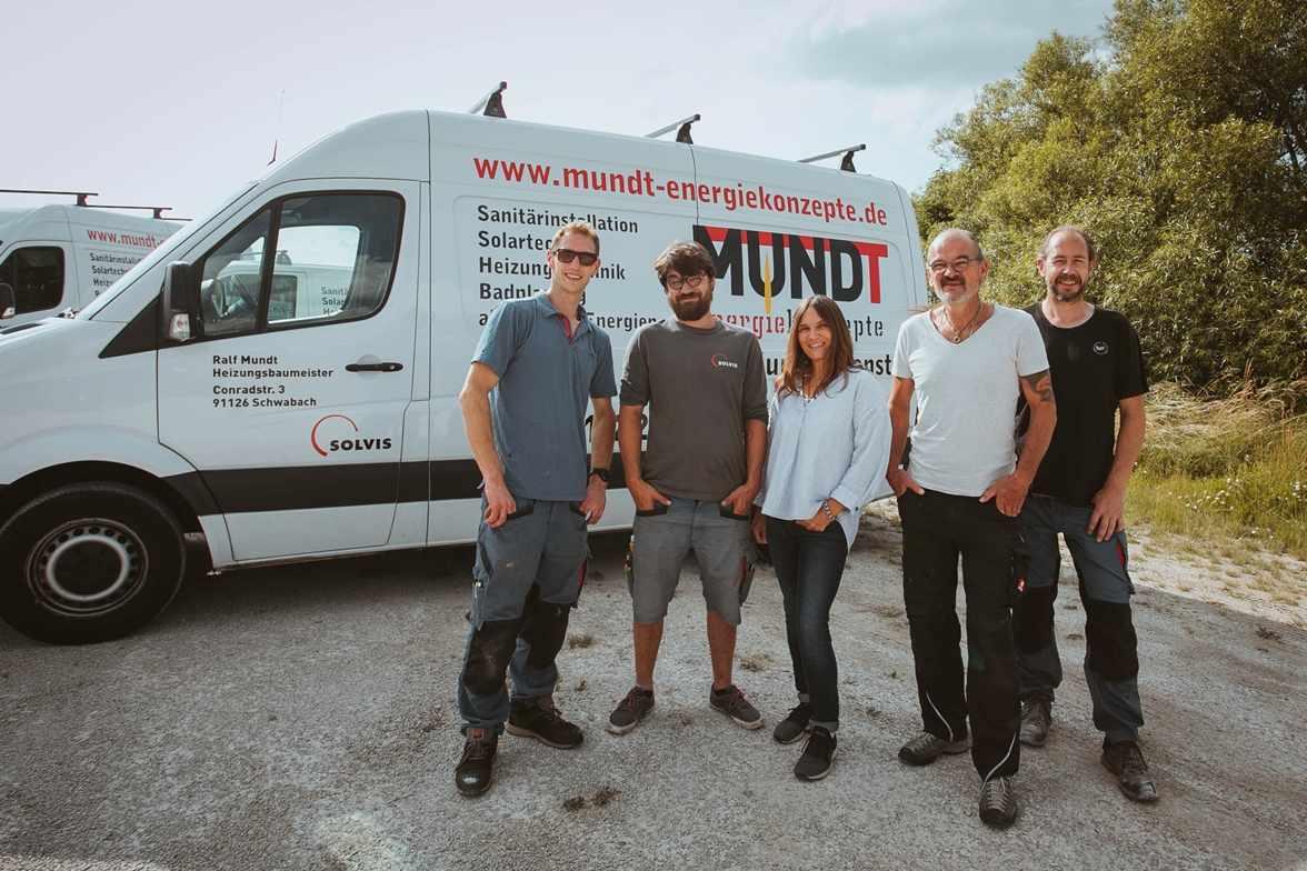 Mundt Energiekonzepte - Teambild